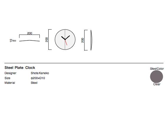 steelplateclock